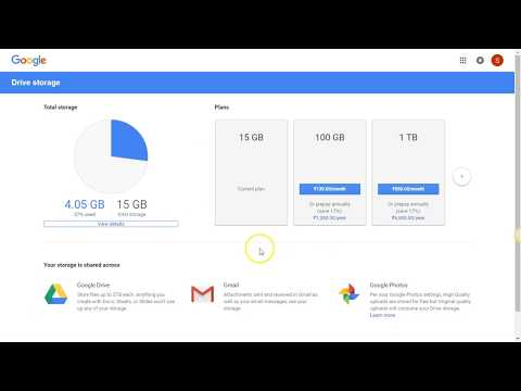 how to check size of your gmail and google account