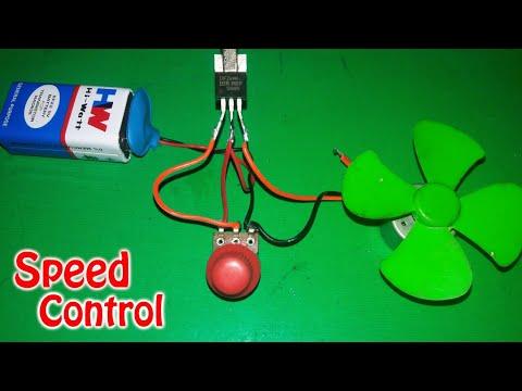 Motor Speed Controller (Using Mosfet Z44)