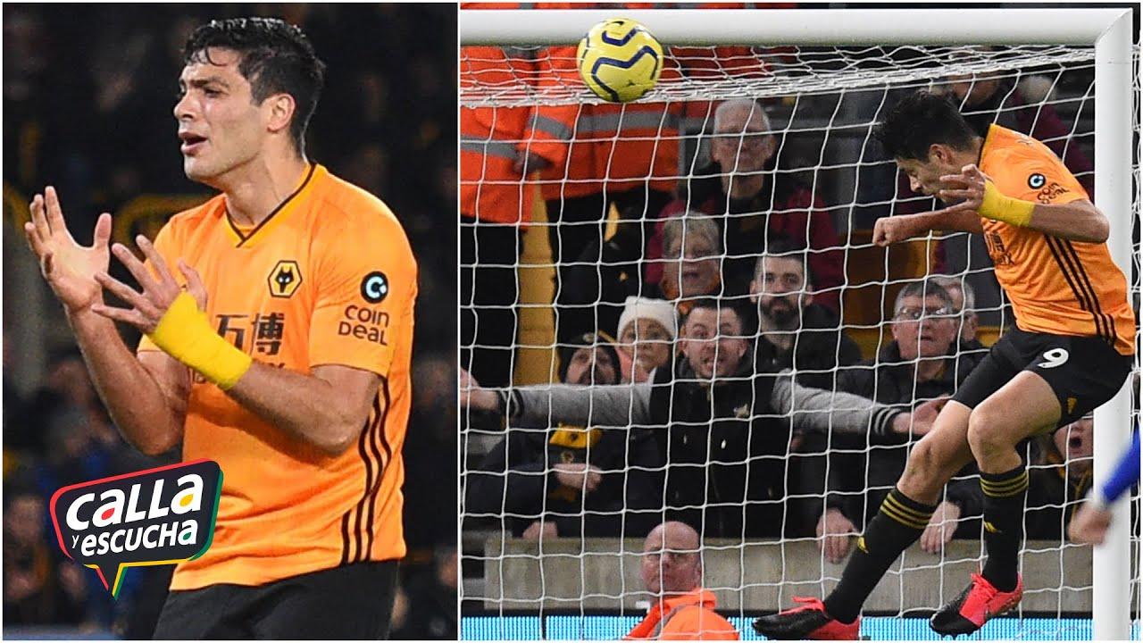 RAÚL JIMÉNEZ jugó los 90 minutos pero los Wolves empataron ante el Leicester City | Calla y Escucha
