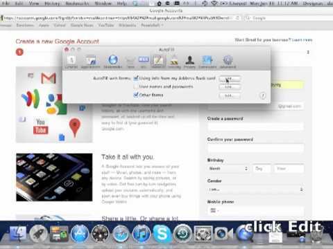 Autofill-Safari-Mac
