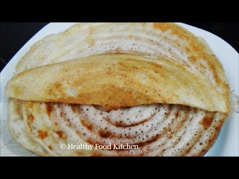 Dosa Batter Recipe - How to make Dosa Batter Recipe in Tamil - Crispy Dosa Recipe