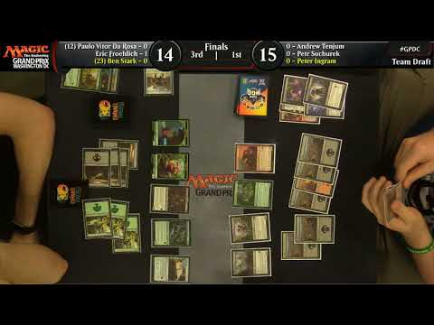Magic the Gathering GP DC 2018 Team Limited Finals