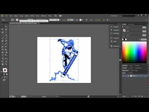 How To Create SVG Files For VideoScribe In Illustrator PART 1