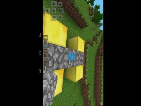 How to make nether portal in minecraft pe in 2014