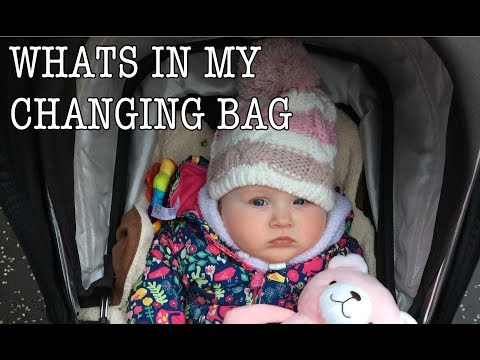 WHAT'S IN MY CHANGING BAG (DIAPER BAG) | My Fashion Cupboard Baby
