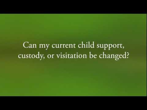 Huntsville, AL Child Support Help - Can child support payment or visitation schedule be changed?