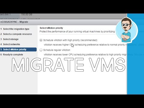 How To vMotion in VMware!