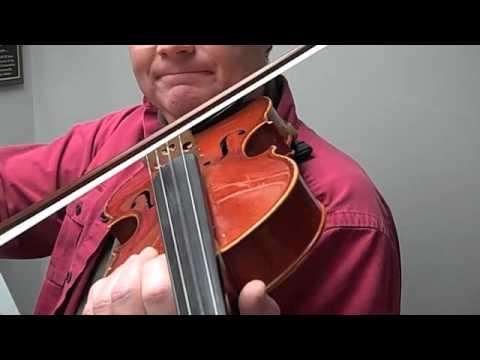 Viola tuning notes