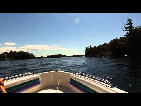 Thousand Islands Boat Ride - Fast