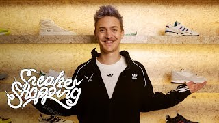 Ninja Goes Sneaker Shopping With Complex