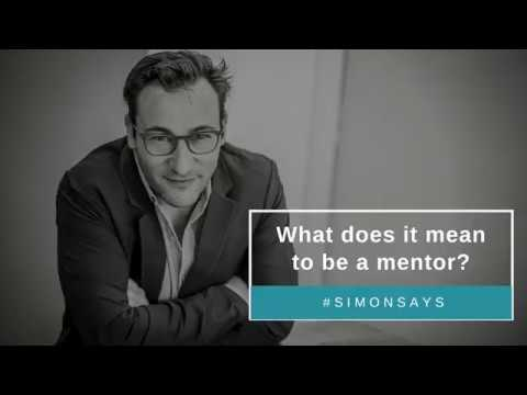 What does it mean to be a mentor?