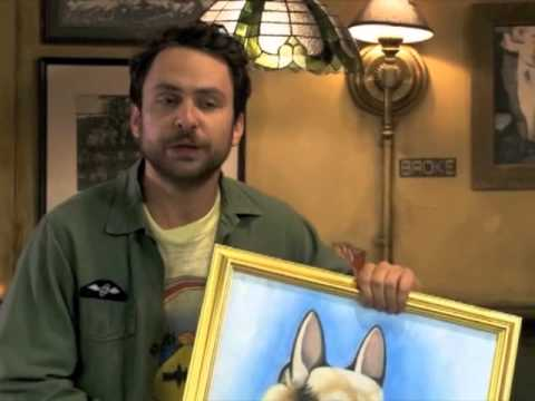 Its Always Sunny Charlie Hitler Painting (Full)