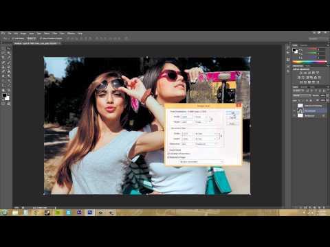 Photoshop CS6 Tutorial - 12 - Adjusting Image and Canvas Size