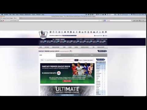 How to get your Fantasy Premier League Team ID