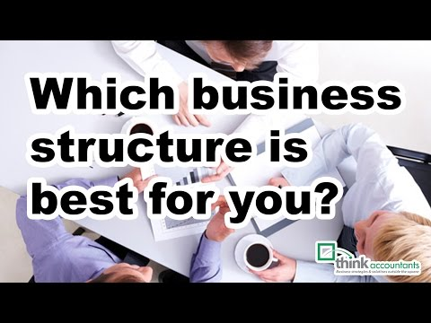 Which business structure is best for you?