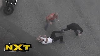 Security camera footage: The Revival attack Enzo Amore: Feb. 23, 2016