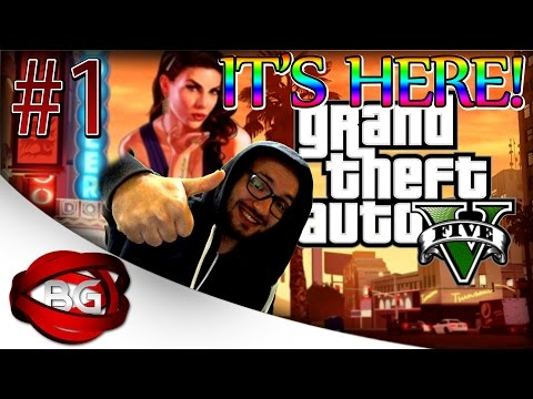 IT'S HERE- GTA 5 STORY MODE #1 PC Walkthrough