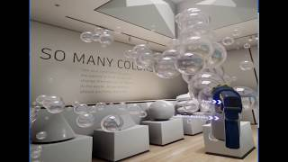 Playing in the VR 3ds Max Interactive Museum Demo