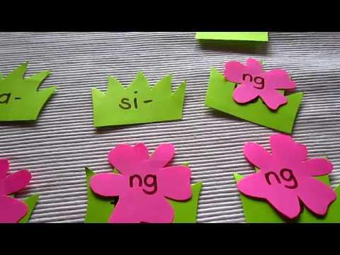 Preschool - Reading, Phonics game: Put