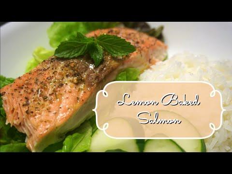How to Make Lemon Baked Salmon