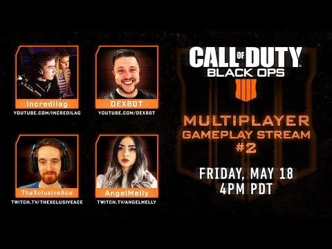 CALL OF DUTY BLACK OPS 4 MULTIPLAYER GAMEPLAY LIVE STREAM INFORMATION! (BO4 MULTIPLAYER GAMEPLAY)
