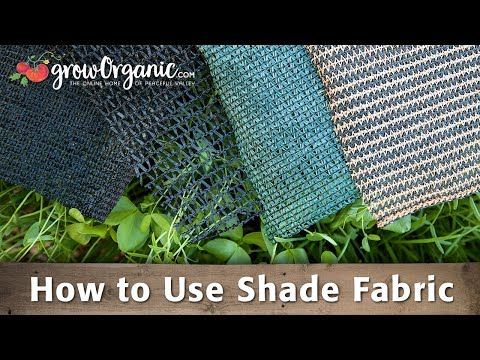 How to Use Shade Fabric & Protect Your Plants from the Extreme Summer Heat