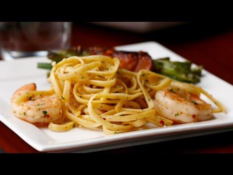 3-Course Shrimp Scampi Dinner