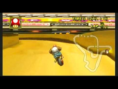 [MKwii]   New Ported Track   ~  DS  Wario  Stadium