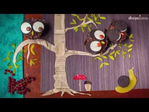 How to Make Owl Cupcakes