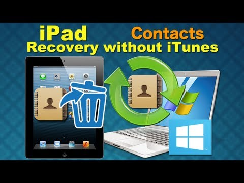 Wondershare Dr.Fone [iPad Recovery]: How to Retrieve Deleted Contacts from iPad Directly