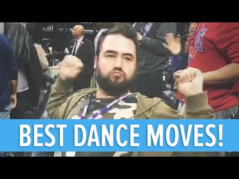 BEST DANCE MOVES AT AN NBA BASKETBALL GAME 🏀