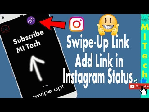 HOW TO ADD LINK (URL) ON INSTAGRAM STORY 2017   Add Swipe-Up Link in Instagram Stories  