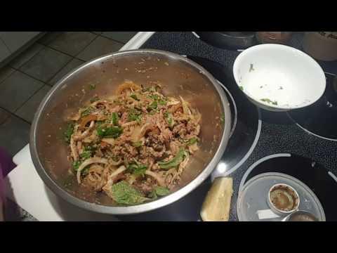 Larb Namtok *Beef Salad*