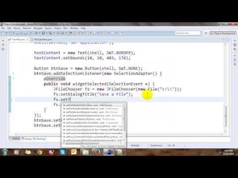 Open and Save File Using JFileChooser in Java Swing