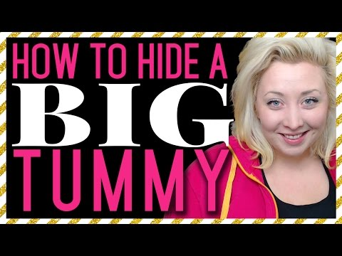 How to Hide a Big Tummy: 13 Tips to Conceal Your Stomach