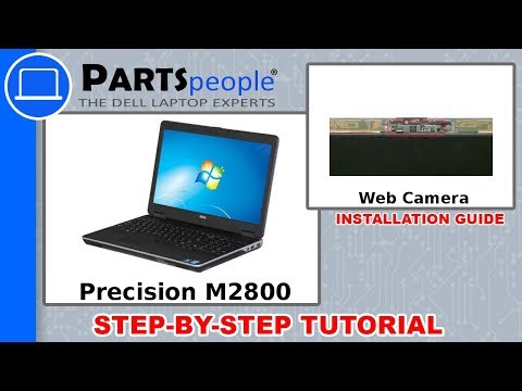 Dell Precision M2800 (P29F001) Web Camera How-To Video Tutorials