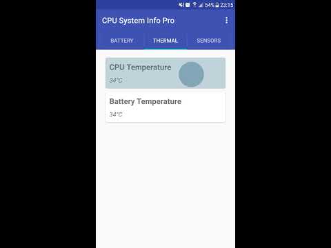 Check the CPU Temperature of your Android Smartphones and Tablets