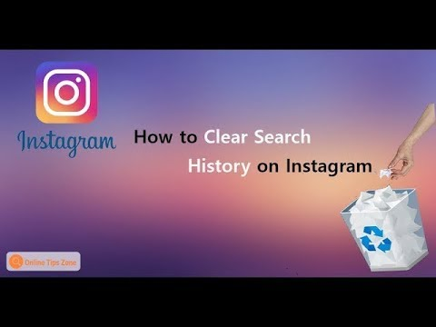 How to Delete Search History in Instagram