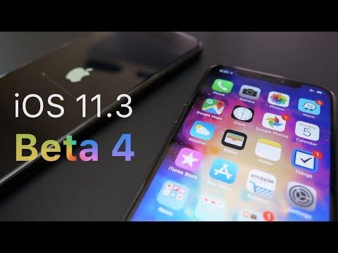 iOS 11.3 Beta 4 - What's New?