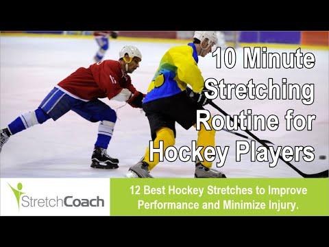 Hockey Stretches, Best Hockey Stretching Routine, Flexibility Program for Hockey Players