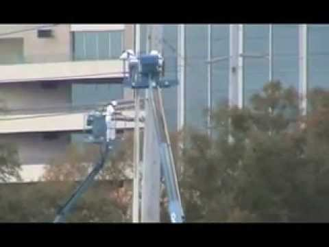 Paint Contractor Tampa, Painting Light Poles