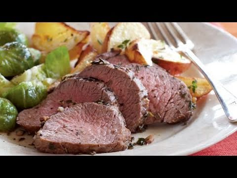 Herb-Roasted Beef and Potato Recipe