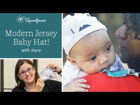 How to Make an Adorable Knit Baby Hat   Spoonflower