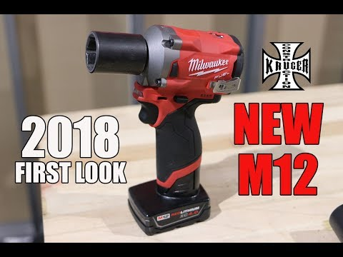 New Milwaukee M12 FUEL Impacts - First Look #NPS18