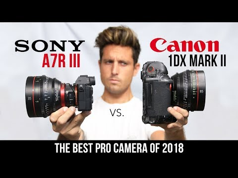The BEST Camera of 2018 • SONY A7R III vs. 1DX Mark ii