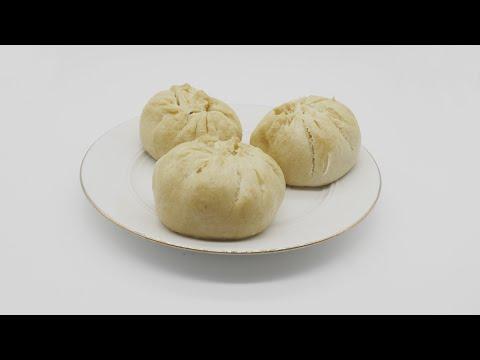 Szechuan twice cooked pork steamed buns/bao authentic Sichuan/Szechuan food recipe #42 四川回锅肉包子