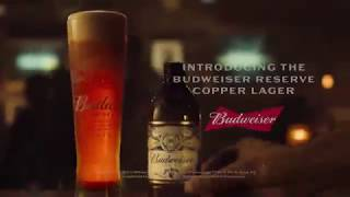 Budweiser | Introducing Reserve Collection Copper Lager :06