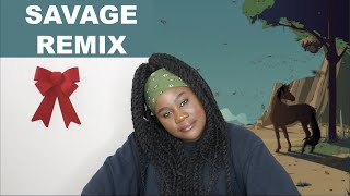 Megan Thee Stallion, Beyoncé - Savage Remix  REACTION 
