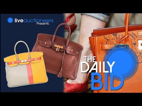 Hermes Handbags, October 17th 2014 - The Daily Bid