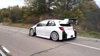 LAST TEST TOYOTA YARIS WRC2017 | TOYOTA GAZOO RACING | Teemo Suninen